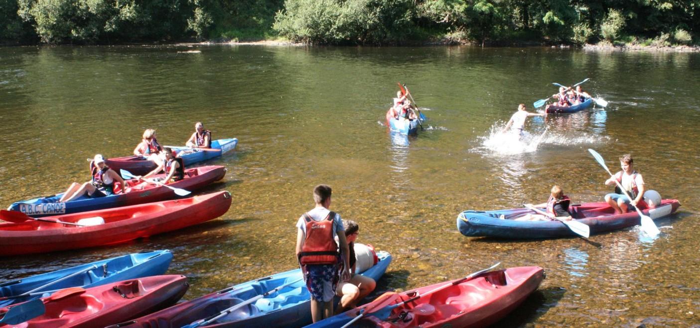 Camping Au Soleil d'Oc-canoë kayak-Les Pieds dans l'Eau