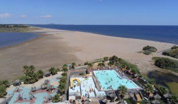 Camping Bleu Marine-vue aérienne-Les Pieds dans l'Eau