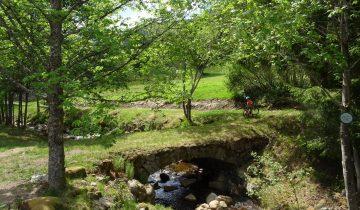 Camping de Belle Hutte-bord de rivière-Les Pieds dans l'Eau