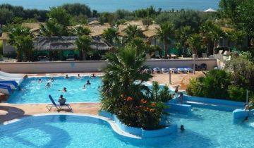 Camping de La Plage et du Bord de Mer-piscine-Les Pieds dans l'Eau