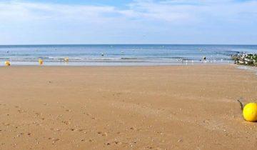 Camping de La Plage Houlgate-plage-Les Pieds dans l'Eau