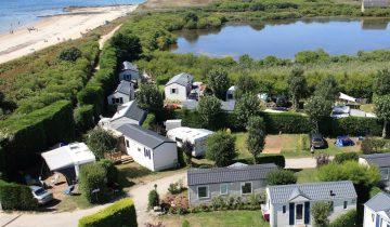 Camping de La Plage Trinité-accès direct à la plage-Les Pieds dans l'Eau