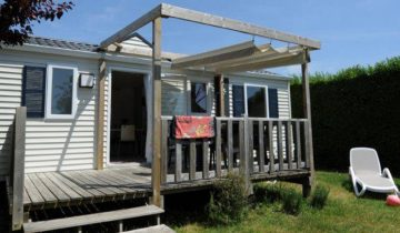 Camping de La Plage Trinité-locatif-Les Pieds dans l'Eau