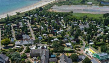 Camping de La Plage Trinité-vue aérienne-Les Pieds dans l'Eau 5