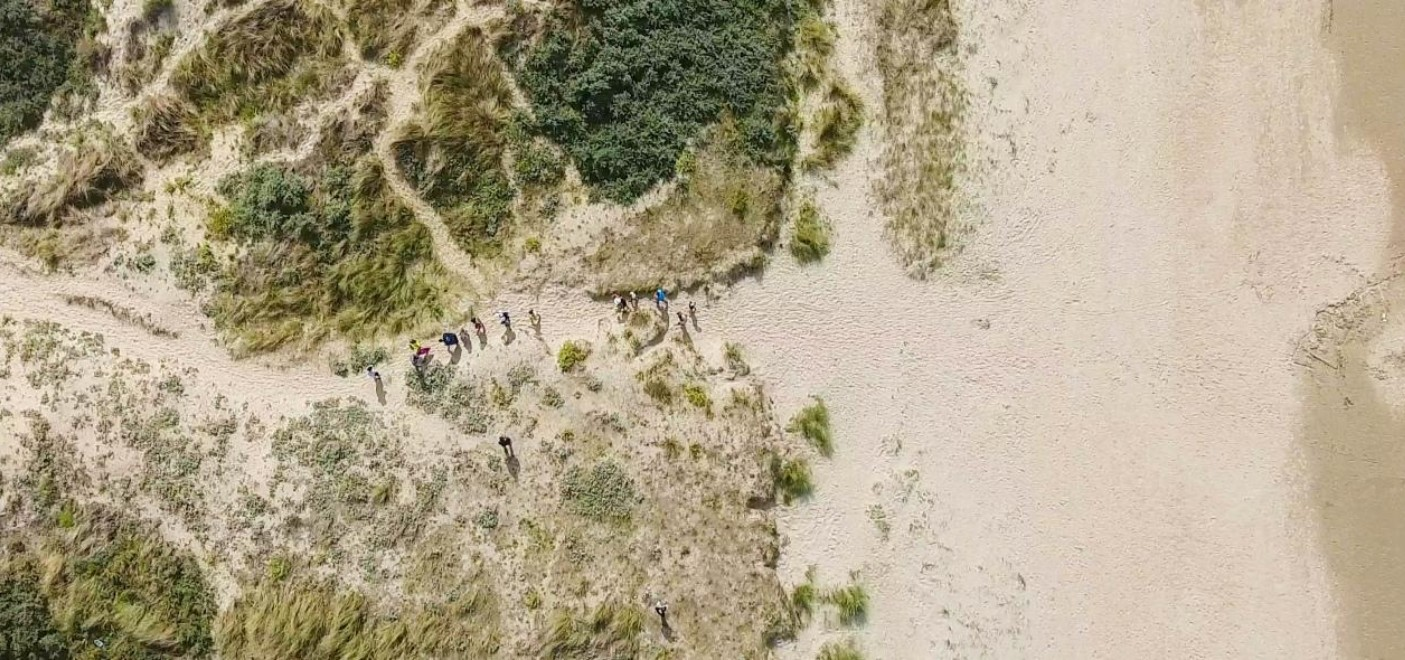 Camping Des Dunes-accès plage-Les Pieds dans l'Eau