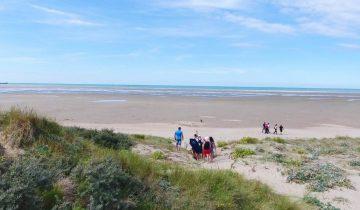 Camping Des Dunes-plage-Les Pieds dans l'Eau
