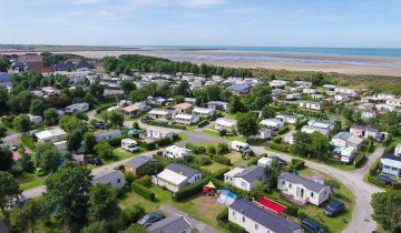 Camping Des Dunes-vue aérienne-Les Pieds dans l'Eau