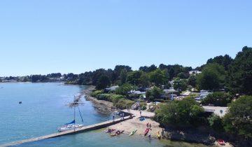 Camping du Bilouris-embarcadère-Les Pieds dans l'Eau