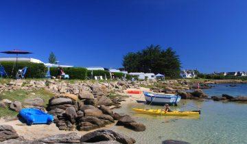 Camping Du Port-emplacement vue mer-Les Pieds dans l'Eau