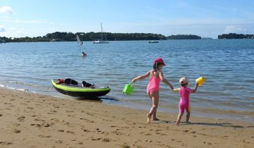 Camping Ker Eden-activités nautiques-Les pieds dans l'eau2