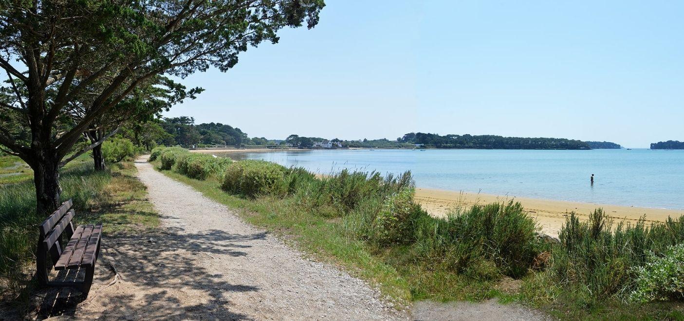 Camping Ker Eden-plage-Les pieds dans l'eau
