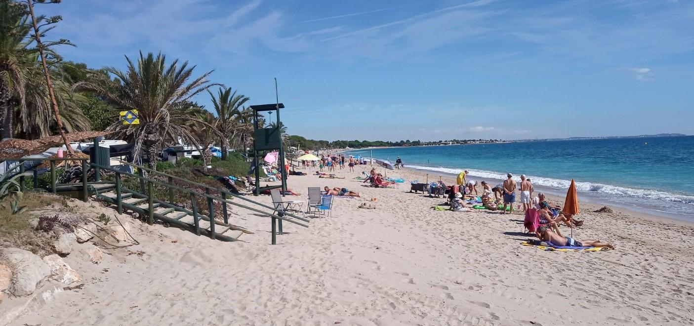 Camping La Torre del Sol-plage-Les Pieds dans l'Eau