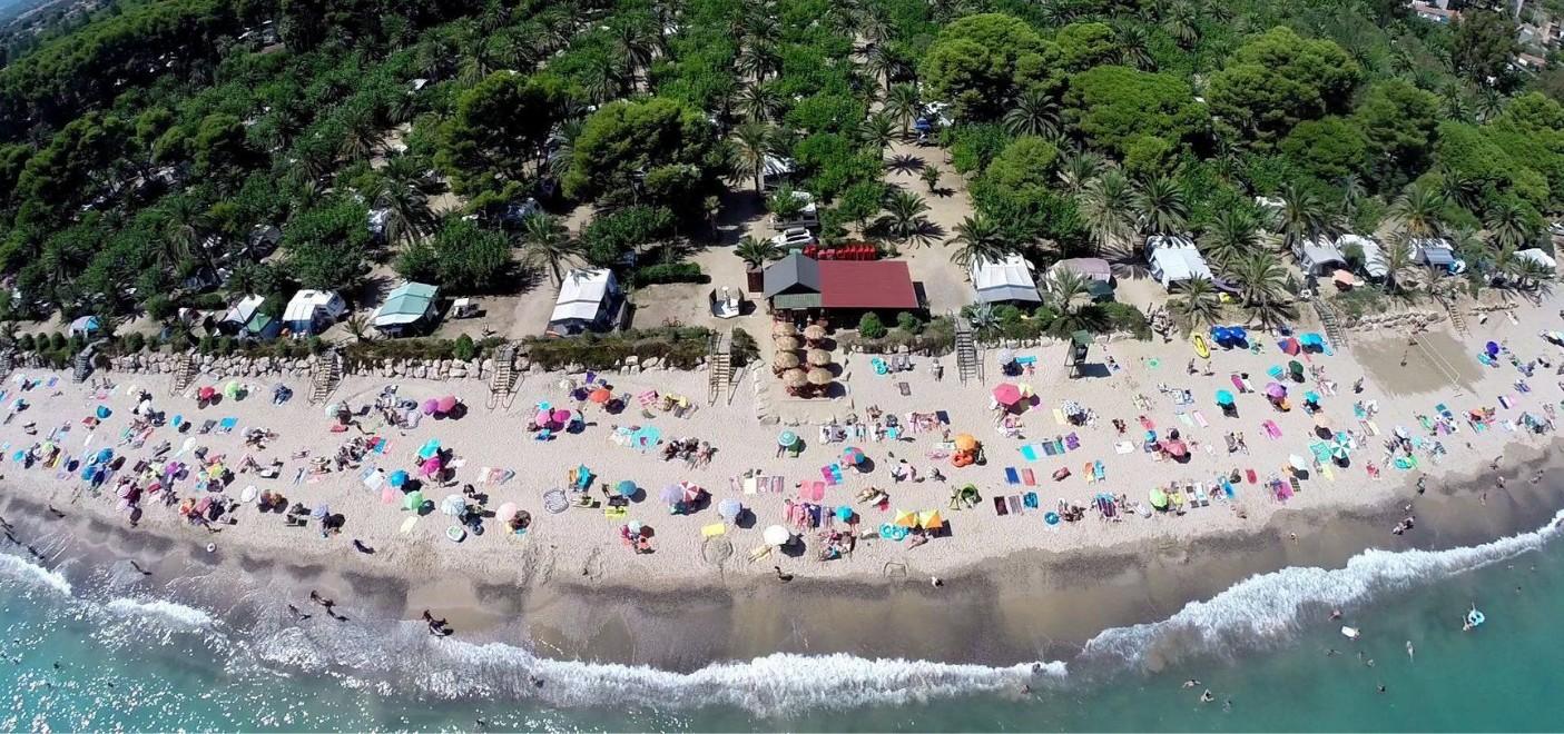 Camping La Torre del Sol-vue aérienne-Les Pieds dans l'Eau 2