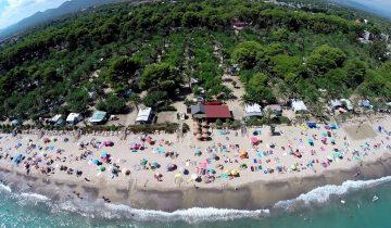 Camping La Torre del Sol-vue aérienne-Les Pieds dans l'Eau