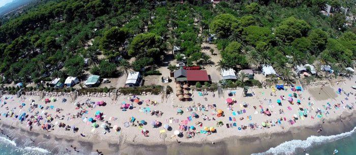 Les Pieds Dans L'eau : Camping La Torre Del Sol Vue Aérienne Les Pieds Dans L'eau
