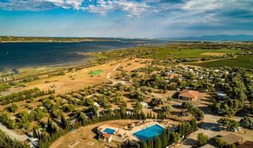 Camping Le Fun-vue aérienne-Les Pieds dans l'Eau