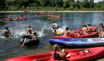Les Pieds Dans L'eau : Camping Le Perpetuum Kayak Les Pieds Dans L'eau