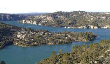 Camping Le Soleil Esparron-Lac d'Esparron-Les Pieds dans l'Eau