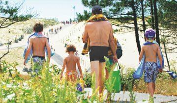 Camping Le Vieux Port-chemin d'accès à la plage-Les Pieds dans l'Eau 2