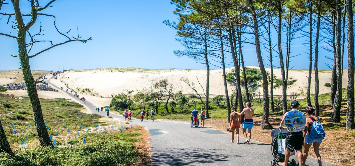 Les Pieds Dans L'eau : Camping Le Vieux Port Chemin D'accès à La Plage Les Pieds Dans L'eauCamping Le Vieux Port-chemin d'accès à la plage-Les Pieds dans l'Eau