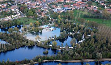 Camping Les Puits Tournants-vue aérienne-Les Pieds dans l'Eau