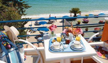 Grand Hotel Moriaz-balcon vue mer-Les Pieds dans l'Eau