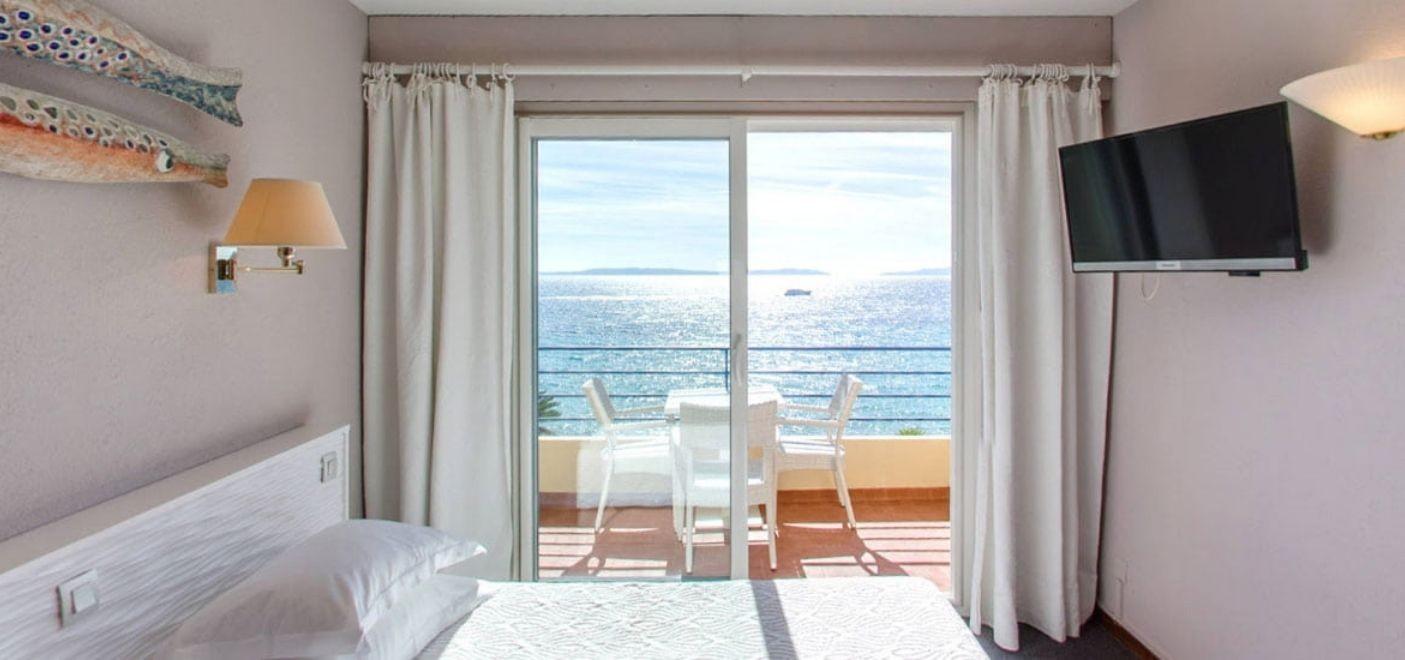 Grand Hotel Moriaz-chambre vue mer-Les Pieds dans l'Eau