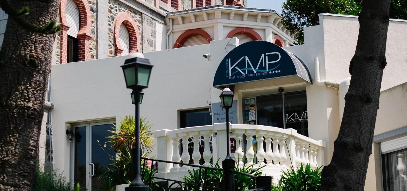Hôtel Ker Moor Préférence-entrée-Les Pieds dans l'Eau