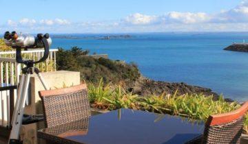 Hôtel Ker Moor Préférence-table vue mer-Les Pieds dans l'Eau 2