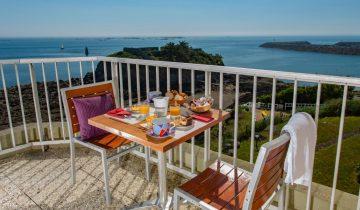 Hôtel Ker Moor Préférence-terasse vue mer-Les Pieds dans l'Eau