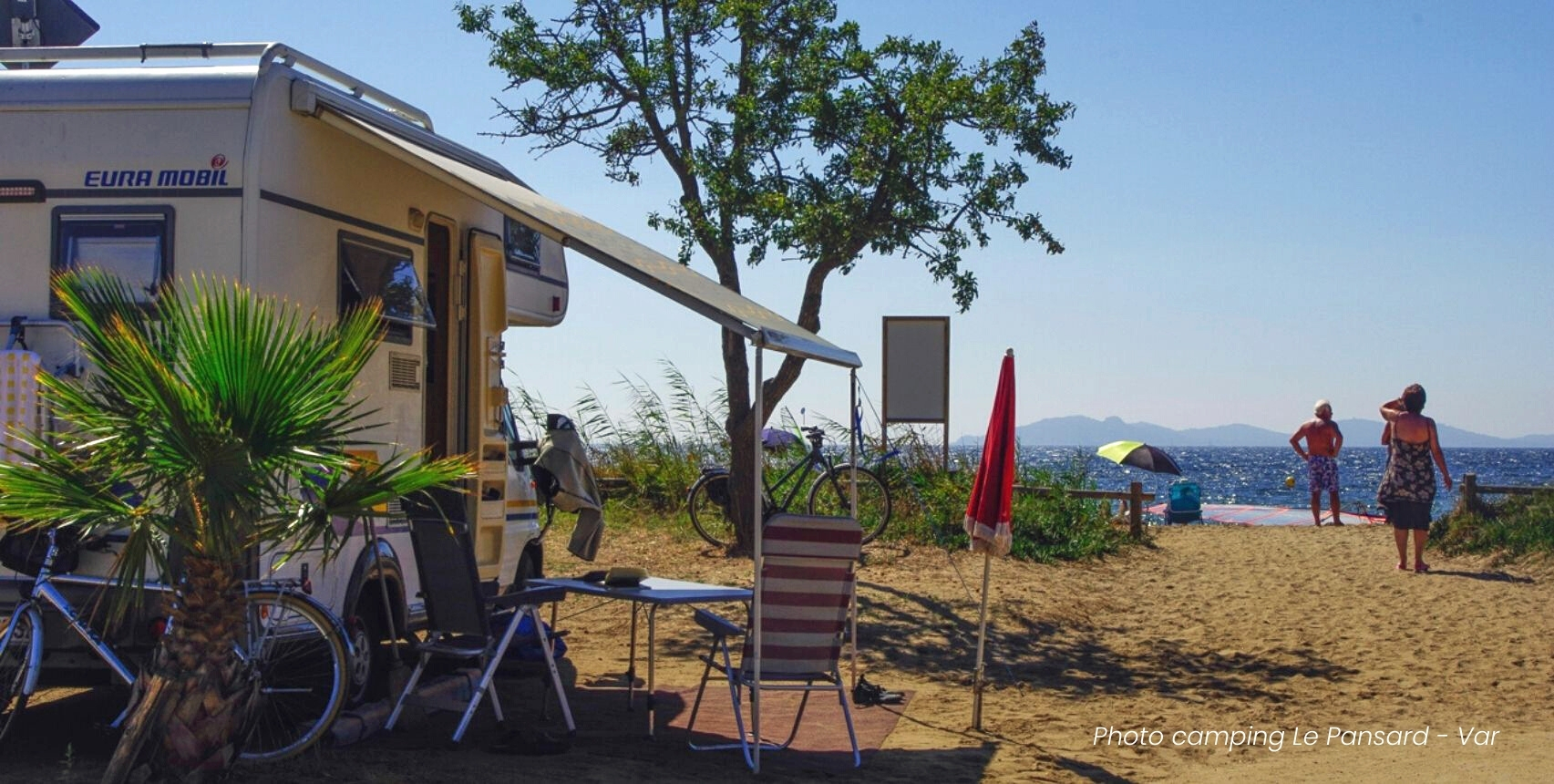 Un séjour en camping-car - Les Pieds dans l'Eau