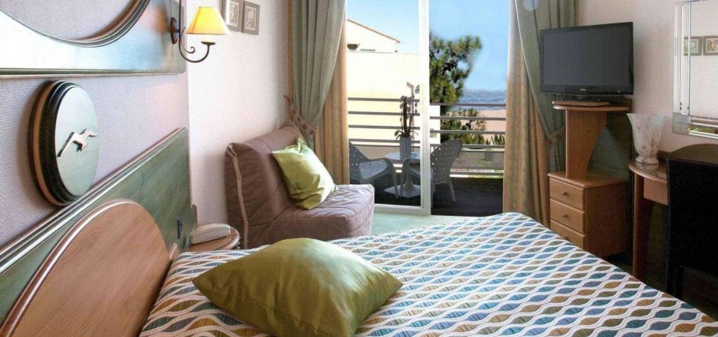 Grand Hotel du Lido-chambre vue mer-Les Pieds dans l'Eau