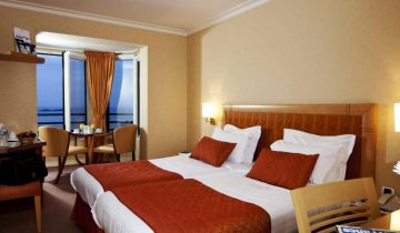 Hôtel Alexandra-chambre vue mer-Les Pieds dans l'Eau