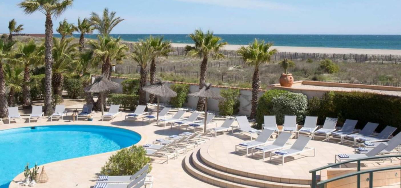 Hôtel Bulles de Mer-piscine-Les Pieds dans l'Eau