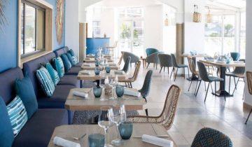 Hôtel Bulles de Mer-salle de restaurant-Les Pieds dans l'Eau