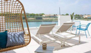 Hôtel Bulles de Mer-terrasse avec vue-Les Pieds dans l'Eau