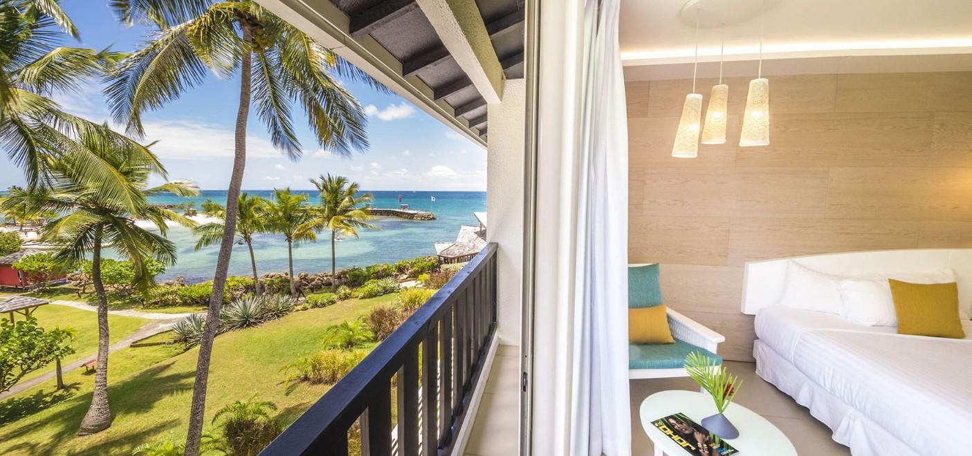 Hôtel La Créole-chambre vue mer-Les Pieds dans l'Eau