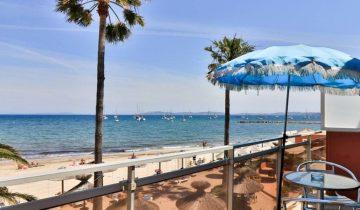 Hôtel La Potinière-balcon vue mer-Les Pieds dans l'Eau 2
