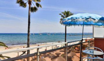 Hôtel La Potinière-balcon vue mer-Les Pieds dans l'Eau