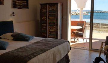 Hôtel La Potinière-chambre vue mer-Les Pieds dans l'Eau 2