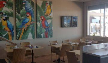Hôtel La Potinière-intérieur restaurant-Les Pieds dans l'Eau