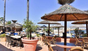 Hôtel La Potinière-terrasse vue mer-Les Pieds dans l'Eau 2