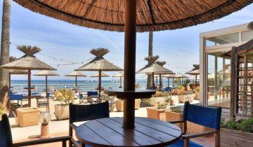 Hôtel La Potinière-terrasse vue mer-Les Pieds dans l'Eau 3