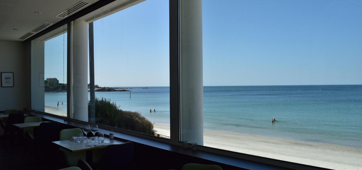 Hôtel Les Sables Blancs-restaurant vue mer-Les Pieds dans l'Eau