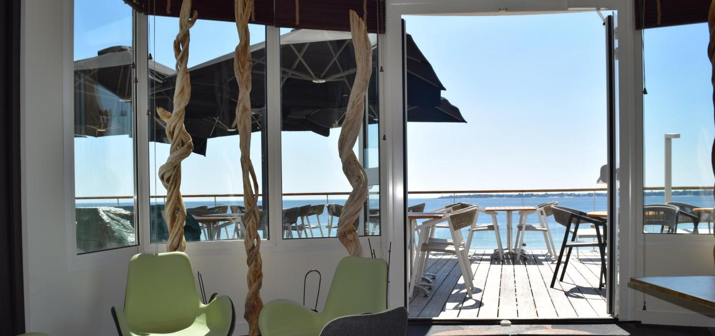 Hôtel Les Sables Blancs-salle de séminaire vue mer-Les Pieds dans l'Eau