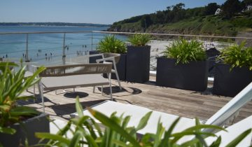 Hôtel Les Sables Blancs-terrasse vue mer-Les Pieds dans l'Eau 2