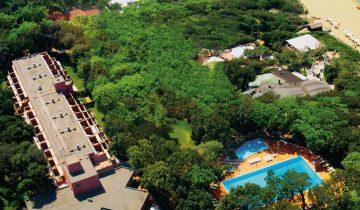 Hôtel Park I Lecci-vue aérienne-Les Pieds dans l'Eau 2