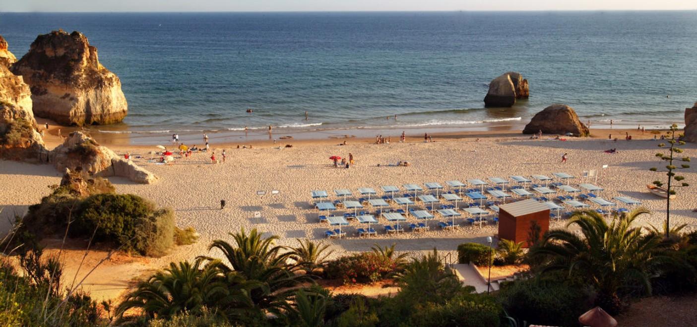 Hôtel Pestana Alvor Praia-plage aménagée-Les Pieds dans l'Eau