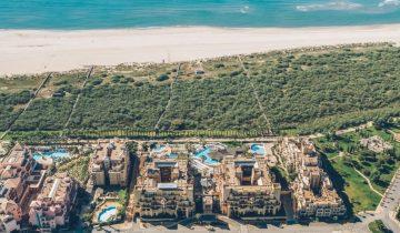 Hôtel Isla Canela-vue aérienne-Les Pieds dans l'Eau