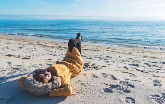 Le bord de mer en hors saison - Les Pieds dans l'Eau